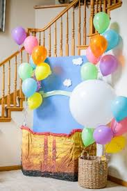 image source image source. Hot Air Balloon Birthday Party ...