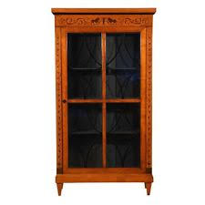 antique cabinet doors. antique 1900s biedermeier-style bookcase/cabinet/vitrine/shelves glass doors cabinet e