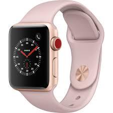 Apple Watch Series 3 38mm Smartwatch MQJQ2LL/A B&H Photo Video