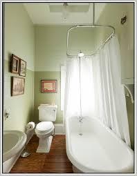 modern curtain elegant clawfoot tub shower rod diy with regard to for