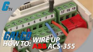 how to wire up i o on abb acs 355 ac drive for abb standard macro how to wire up i o on abb acs 355 ac drive for abb standard macro