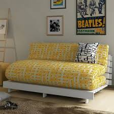 double futon sofa bed. Finn Double Futon Sofa Cum Bed Without Square Cushion (Kolam Surface) By Urban Ladder F