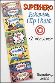 Superhero Classroom Theme This Year Help Manage Behavior