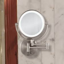 lighted wall mirror. howell lighted wall mount mirror v