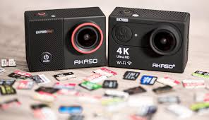 Sd Card Video Recording Time Chart Akaso Ek7000 And Ek7000 Pro Sd Card Recommendations