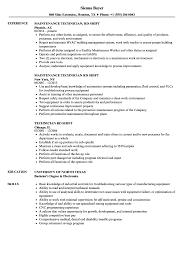 Die Setter Resume Examples Technician Rd Shift Resume Samples Velvet Jobs 15