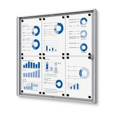 classic enclosed bulletin board indoor magnetic board
