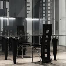 Articoli per sedie moderne cucina pranzo 2 schienale alto pelle