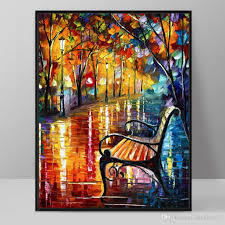 modern art deco oil painting hd print on canvas wall art picture home decor living room impressionism landscapes paintings unframed painting canvas painting