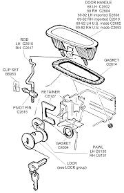 car door parts. Incredible French Door Parts Handles Anderson · Car  Schematic Car Door Parts