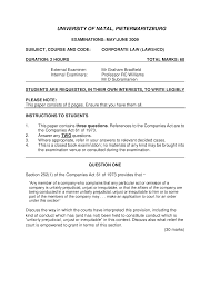 law essay company law essay