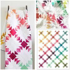 The 25+ best Modern quilt patterns ideas on Pinterest   Stripe ... & Image of Prism Ombre Quilt Adamdwight.com