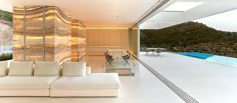 hillside contemporary furniture. Hillside House Furniture Adorns With Yellow Onyx Stone Slabs Contemporary Designers Lifestyle Lego K