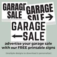 Garage Sale With Free Printable May Do It List A