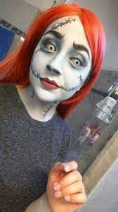 sally nightmare before makeup test cosplay amino