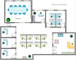 office floor plan example office layout software free