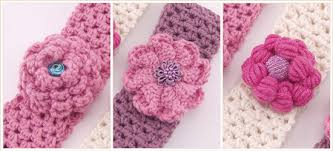 Crochet Flower Pattern For Headband Mesmerizing 48 Knitted Headband With Flower Patterns The Funky Stitch