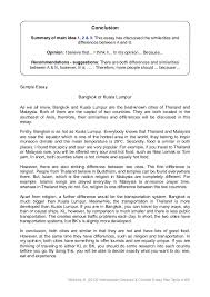 outline of essay co compare contrast plan outline of essay