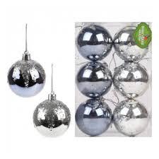 <b>Набор шаров Новогодняя сказка</b> 6 см., 6 штук, серебро — купить ...
