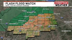 A flash flood warning is issued when a flash flood is imminent or occurring. Flash Flood Watch More Heavy Rainfall In The Forecast This Week Wrsp