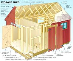 plans for simple garden shed diy and cost