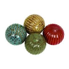 Decorative Sphere Balls Decorative Balls Accent Pieces For Less Overstock 23