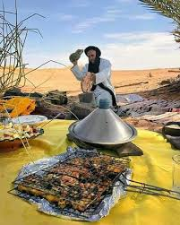 Image result for picture of feasting in the desert