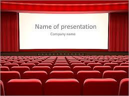 Movie Powerpoint Template Cinema Animated Powerpoint Template