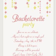9 Free Bachelorette Party Invitation Templates