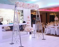 mesmerizing swing wedding cake 8