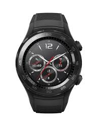 Huawei Watch 2 Bluetooth® Sport Smartwatch for Android and iOS - Black