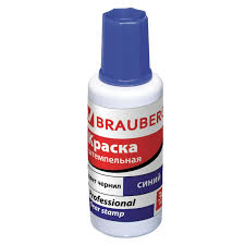 <b>Краска штемпельная BRAUBERG PROFESSIONAL</b> 227981, синяя ...