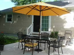 Outdoor Dining Sets With Umbrella BACKYARD LANDSCAPE DESIGN