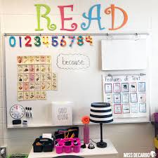 Anchor Chart Display Ideas Miss Decarbo