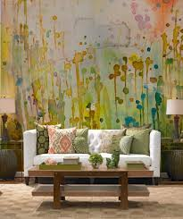 Interior Design : Autumn Watercolors Wall Mural By Pixers Autumn Themed  Murals Autumn-Themed Wall Murals Celebrate the Season