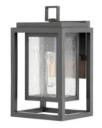 republic collection oil rubbed bronze finish clear seedy glass 1 100w med base lamp w 178mm h 305mm