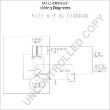 prestolite leece neville m125r3004sep wiring diagram