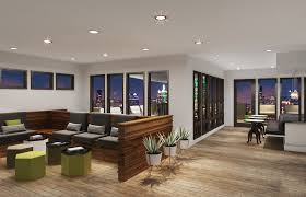 Apex Design District Apartments Dallas Gather In The Large Open Clubroom And Sync In The Wifi