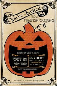pumpkin carving contest flyer pumpkin carving party invitation kinderhooktap com
