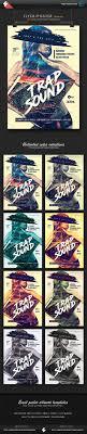 trap reggaeton flyer hip hop trap graphics designs templates from graphicriver