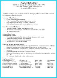 Resume Housekeeping Summary For Resume Free Sample