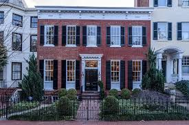 GM noted the other day that the house seen above (3024 Q St.) was one of  his favorite homes in Georgetown. That got GM wondering, what are his ten  favorite ...