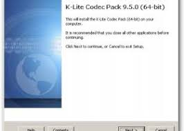 When your browser asks you what to do with the downloaded. K Lite Codec Pack 64 Bit Windows 8 Downloads