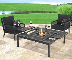 convertible outdoor coffee dining table