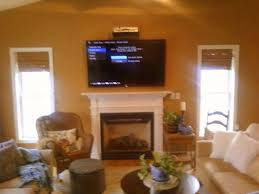 installing tv above fireplace mounting above gas