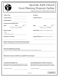 Free Event Proposal Template Doc 24 Sample Event Proposal Template 24 Free Documents In 11