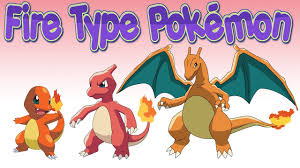 Five Fire Type Pokemon Evolution Chart World Of Toons