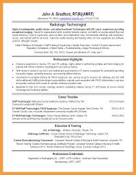 6 X Ray Tech Resume Resume Pdf
