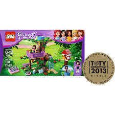 LEGO Friends 3065  Oliviau0027s Tree House  Building Instructions Friends Lego Treehouse