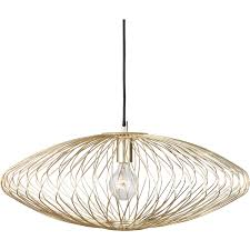 nuevo living  nuevo living astra pendant light  matte gold at